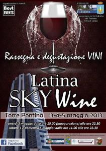 Latina Sky Wine 2013 - flyer -50