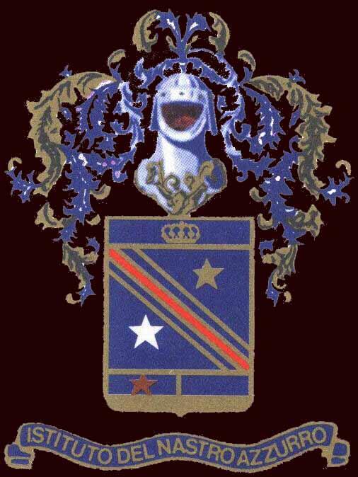 logo istituto del nastro azzurro fra combattenti decorati al valor militare