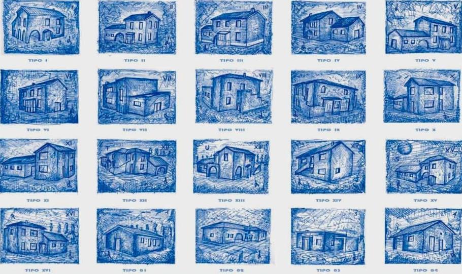 tipologie di case coloniche