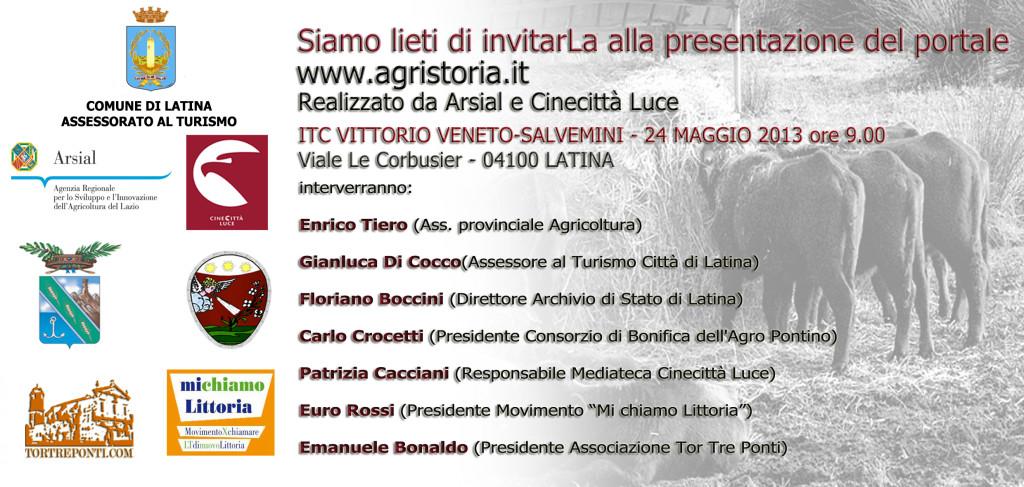 invito 24 maggio 2013 VITTORIO VENETO SALVEMINI
