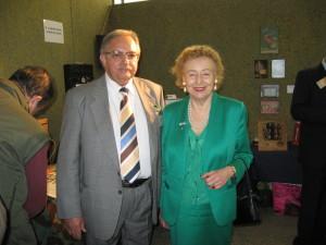 Il Presidente Franco Nervegna con la Principessa Maria Elettra Marconi Giovannelli