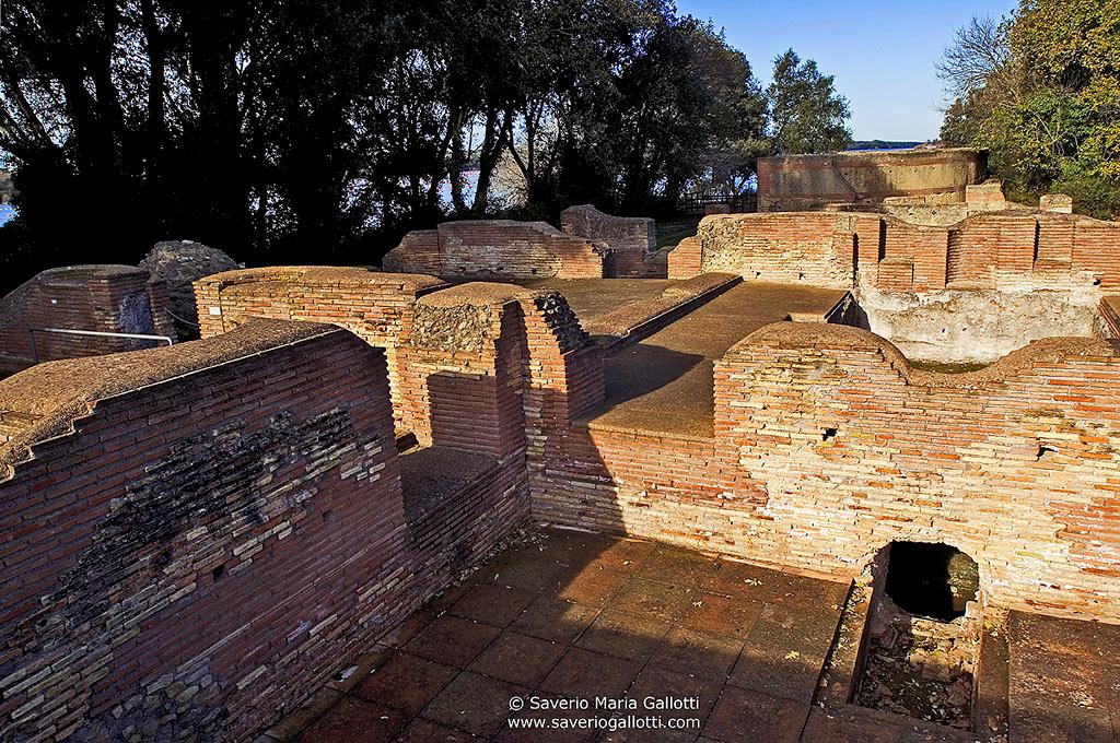Resti dell'antica Villa dell'Imperatore Domiziano  (Foto di Saverio Maria Gallotti)