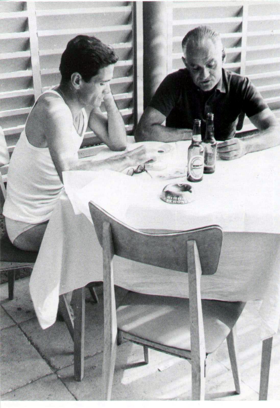 Pier Paolo Pasolini  e Alberto Moravia