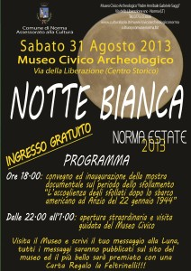 Notte Bianca 2013_Museo Civico Norma (2)