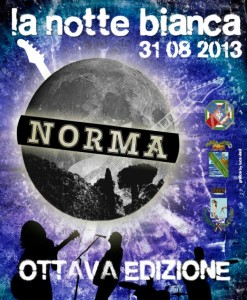 notte bianca norma 31082013