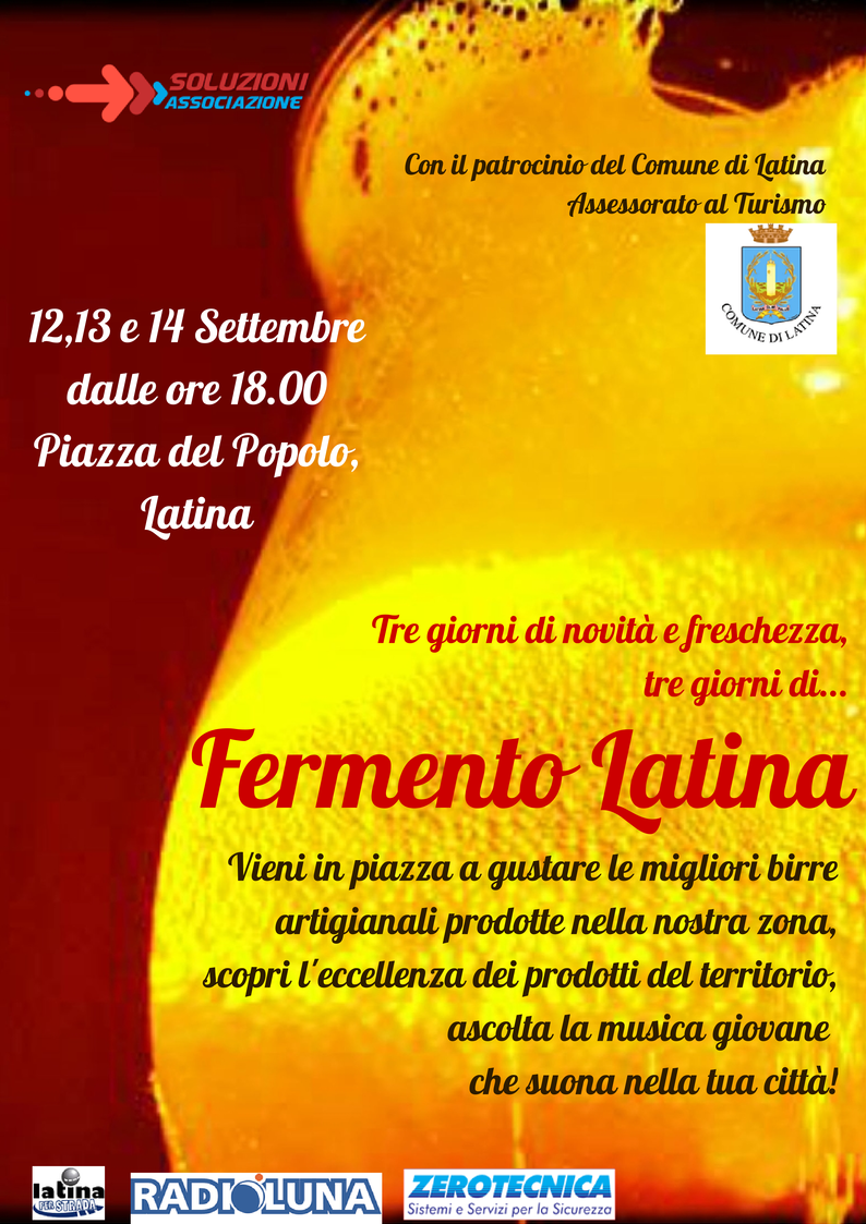 Fermento Latina LOCANDINA