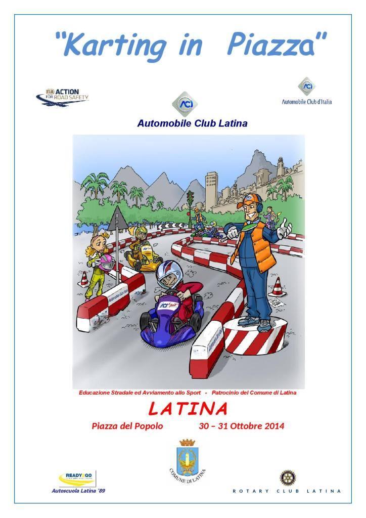 karting locandina