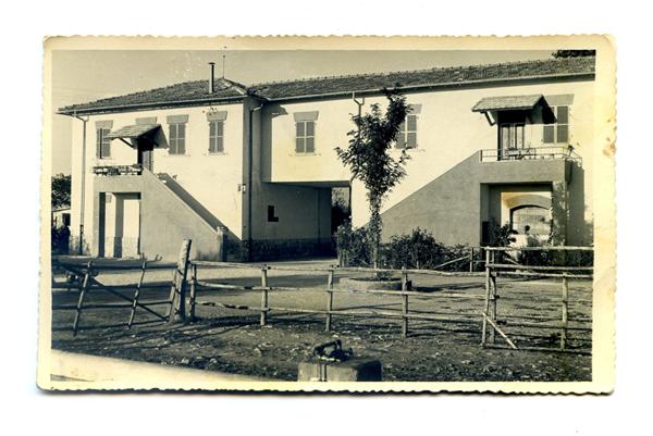 La casa dell'azienda Ottaviani nel 1956