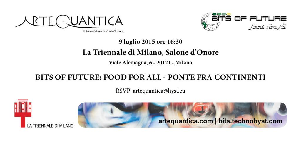 Bits of future food for all ponte tra continenti for Viale alemagna 6 milano