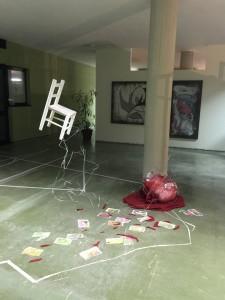 Installazione di Monica Menchella
