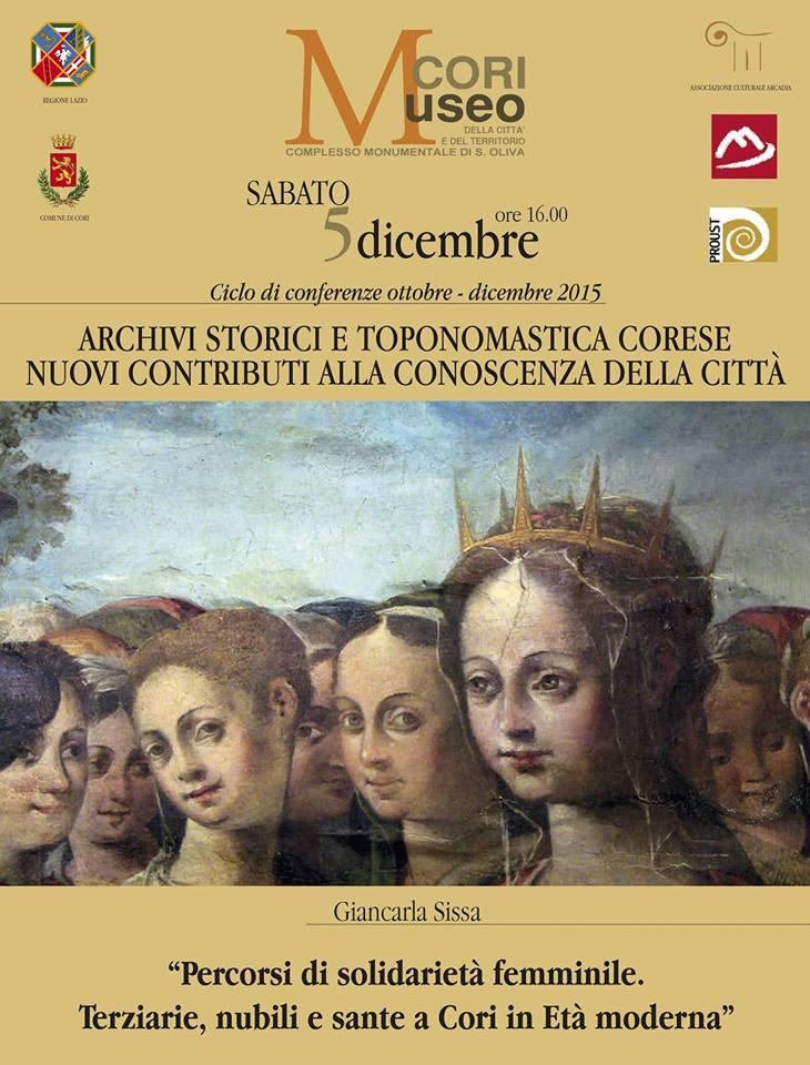 CONFERENZA MUSEO 5 DICEMBRE - LOCANDINA