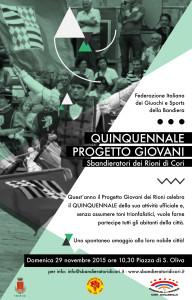 locandina quinquennale progetto giovani 2015-01