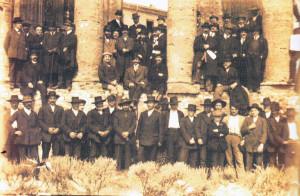 Cori, 1911 - Scuola Popolare (foto di Q. Corsetti)