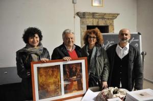 Antonina Ducci, Piero Morucci, Luana Milita e Piero Manciocchi – foto di Vincenzo Pacifici
