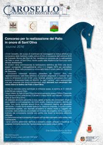 CONCORSO CAROSELLO STORICO 2016
