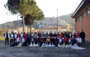 Sbandieratori dei Rioni di Cori e Sbandieratori e Musici Alfieri del Cardinal Borghese di Artena